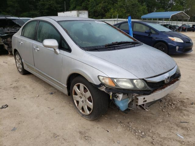 Salvage cars for sale from Copart Midway, FL: 2009 Honda Civic LX