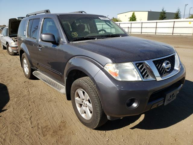 Salvage cars for sale from Copart Bakersfield, CA: 2012 Nissan Pathfinder