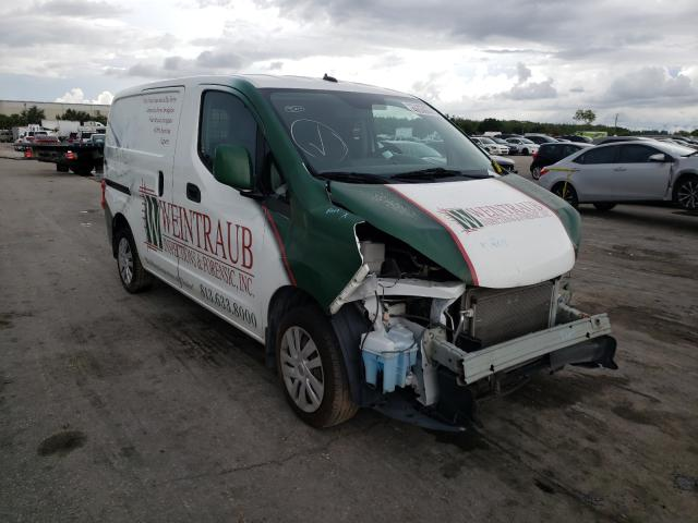 Salvage cars for sale from Copart Orlando, FL: 2017 Nissan NV200 2.5S