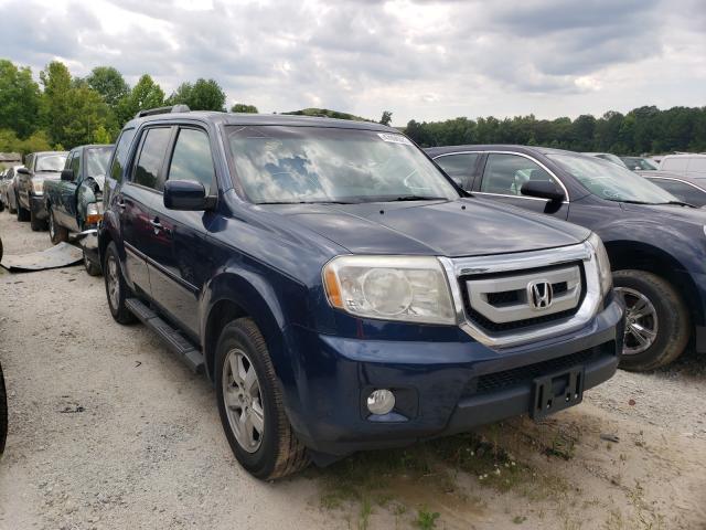 Salvage cars for sale from Copart Fairburn, GA: 2010 Honda Pilot EXL