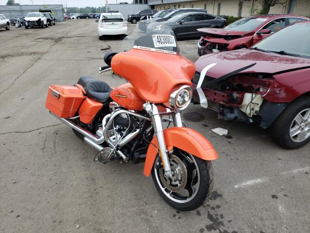Salvage cars for sale from Copart Cudahy, WI: 2012 Harley-Davidson Flhx Street