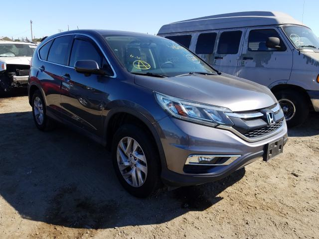 Salvage cars for sale from Copart San Martin, CA: 2015 Honda CR-V EX