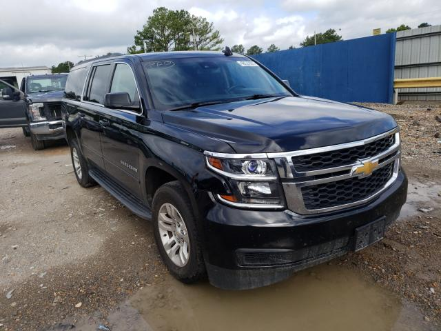Salvage cars for sale at Florence, MS auction: 2016 Chevrolet Suburban C