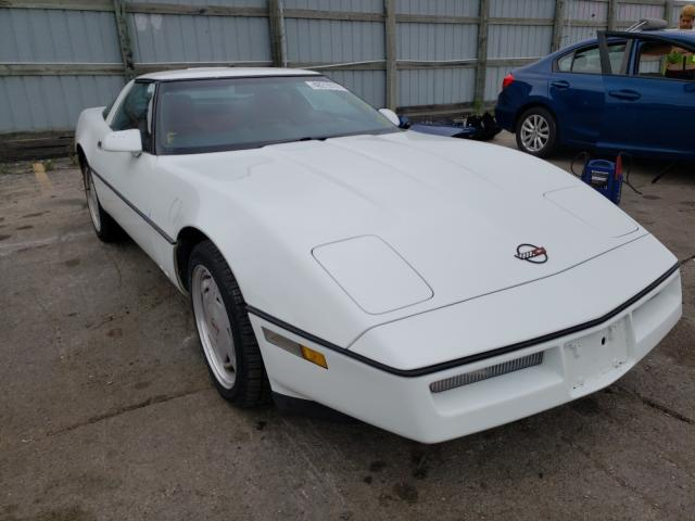 Chevrolet Corvette salvage cars for sale: 1989 Chevrolet Corvette