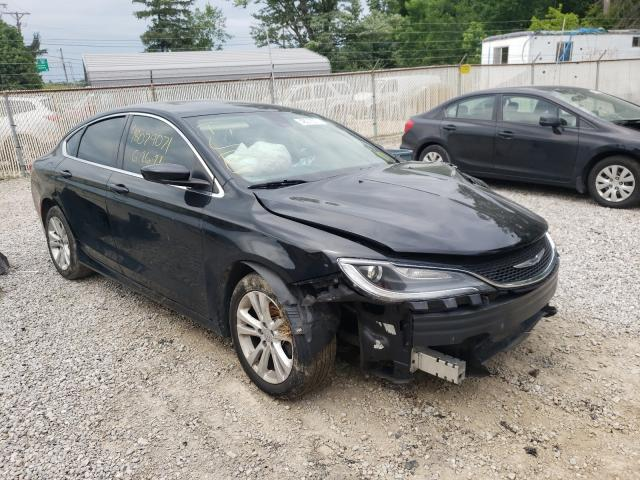 Salvage cars for sale from Copart Northfield, OH: 2017 Chrysler 200 Limited
