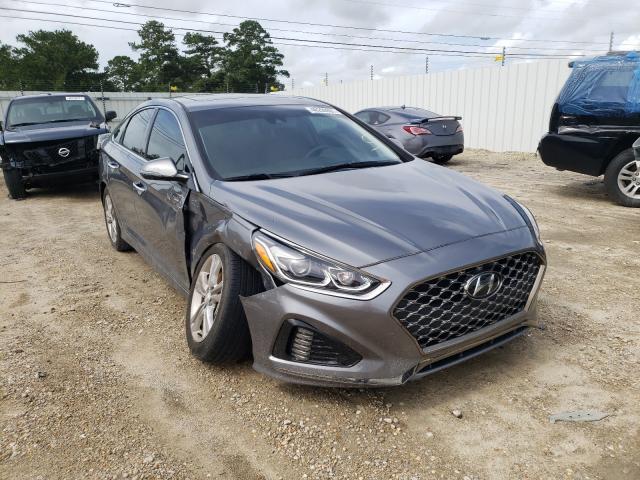 Salvage cars for sale from Copart Newton, AL: 2019 Hyundai Sonata LIM
