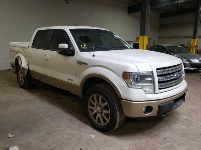 Salvage cars for sale from Copart Chalfont, PA: 2013 Ford F150 Super