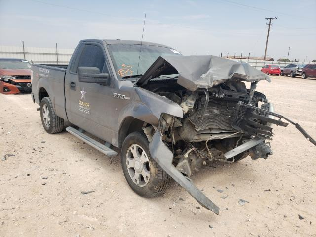 Salvage cars for sale from Copart Andrews, TX: 2010 Ford F150