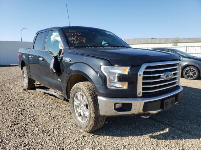 Vehiculos salvage en venta de Copart Bismarck, ND: 2016 Ford F150 Super
