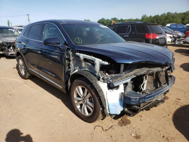 Salvage cars for sale from Copart Hillsborough, NJ: 2017 Lincoln MKX Premium