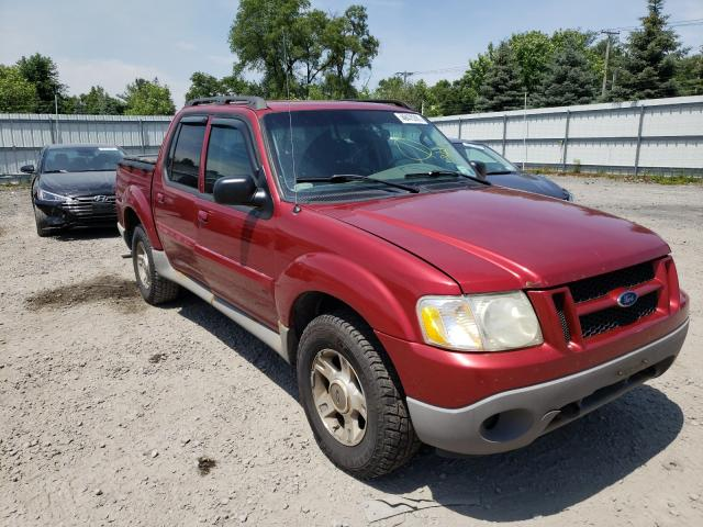 Salvage cars for sale from Copart Albany, NY: 2003 Ford Explorer S