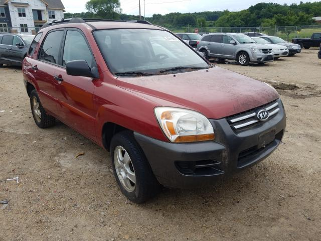 Salvage cars for sale from Copart Madison, WI: 2008 KIA Sportage L