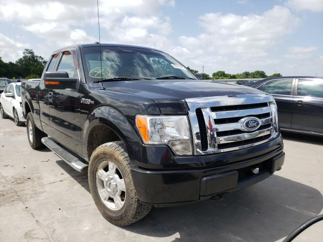 Salvage cars for sale from Copart Wilmer, TX: 2010 Ford F150 Super