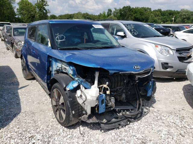 Salvage cars for sale from Copart Rogersville, MO: 2016 KIA Soul