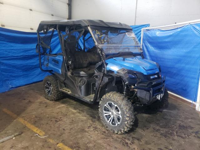 Salvage cars for sale from Copart Atlantic Canada Auction, NB: 2017 Honda SXS1000 M5