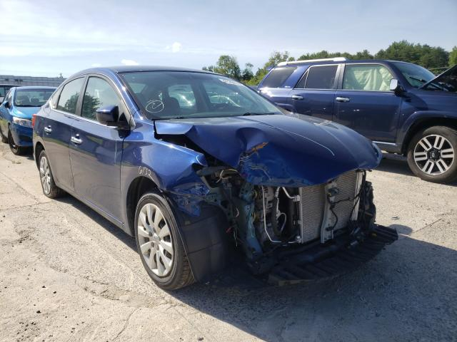 Salvage cars for sale from Copart Fredericksburg, VA: 2018 Nissan Sentra S