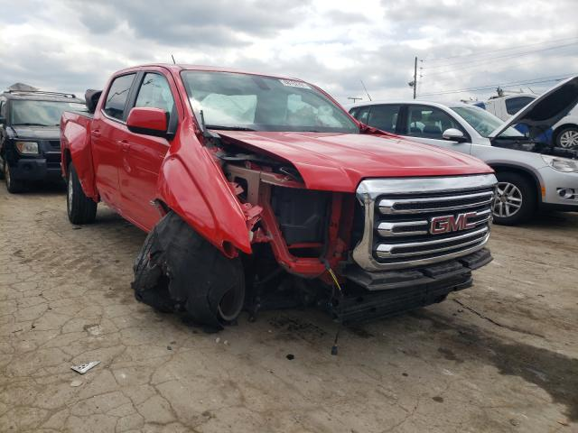 Salvage cars for sale from Copart Lebanon, TN: 2019 GMC Canyon SLE