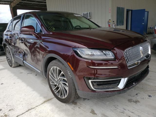 Lincoln salvage cars for sale: 2019 Lincoln Nautilus