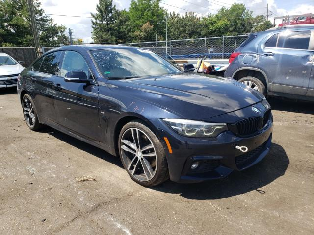 Salvage cars for sale from Copart Denver, CO: 2020 BMW 430XI Gran