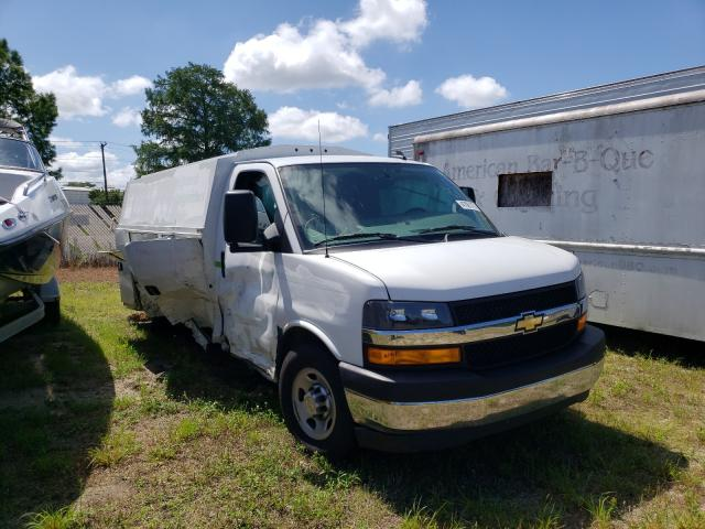 Salvage cars for sale from Copart Seaford, DE: 2020 Chevrolet Express G3