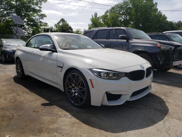 BMW M4 salvage cars for sale: 2018 BMW M4
