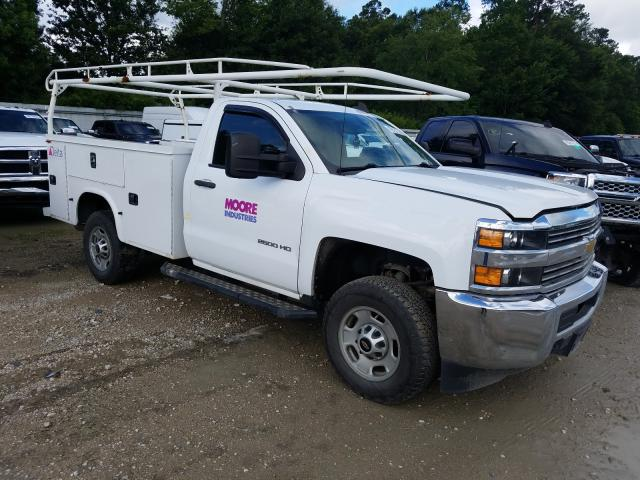 Salvage trucks for sale at Greenwell Springs, LA auction: 2017 Chevrolet Silverado