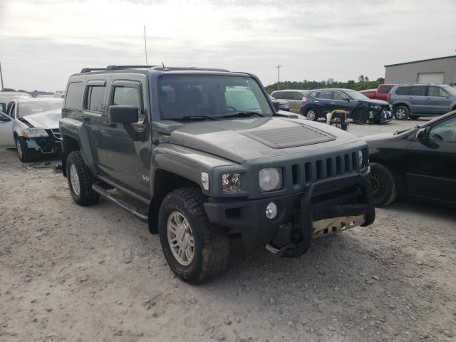 Salvage cars for sale from Copart Leroy, NY: 2010 Hummer H3 Luxury