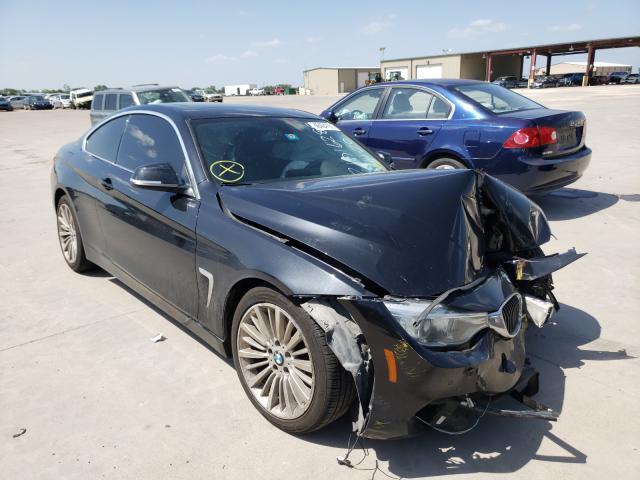 Vehiculos salvage en venta de Copart Wilmer, TX: 2014 BMW 428 I