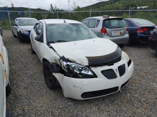 Salvage cars for sale from Copart Cow Bay, NS: 2008 Pontiac G6 Base