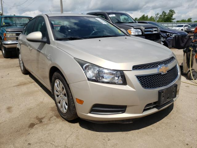 Salvage cars for sale from Copart Pekin, IL: 2011 Chevrolet Cruze LT