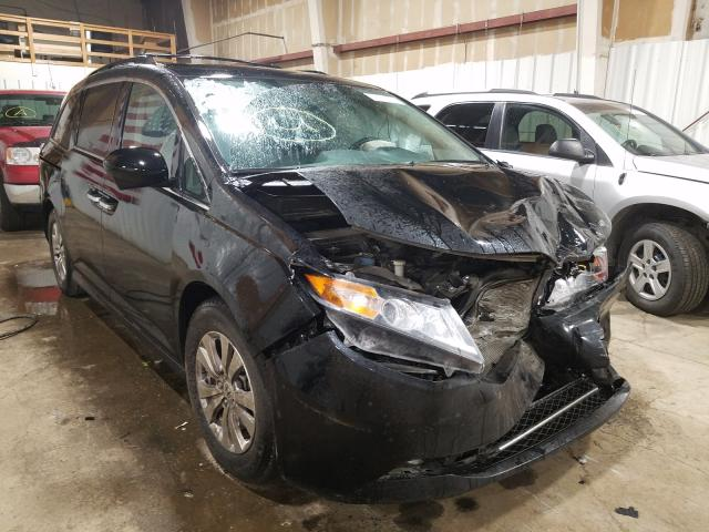 Salvage cars for sale from Copart Anchorage, AK: 2016 Honda Odyssey