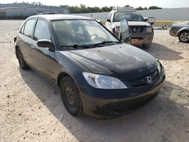 Vehiculos salvage en venta de Copart Oklahoma City, OK: 2005 Honda Civic LX
