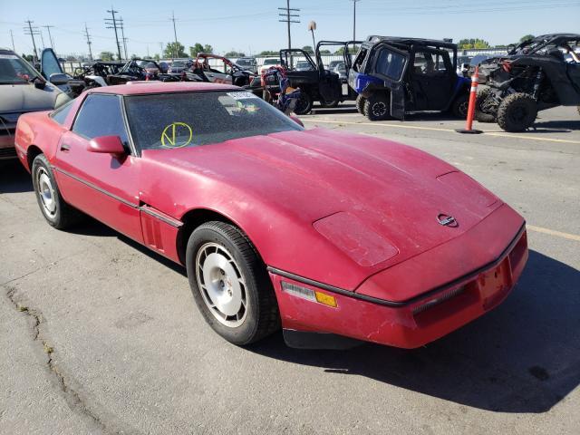 Chevrolet Corvette salvage cars for sale: 1986 Chevrolet Corvette