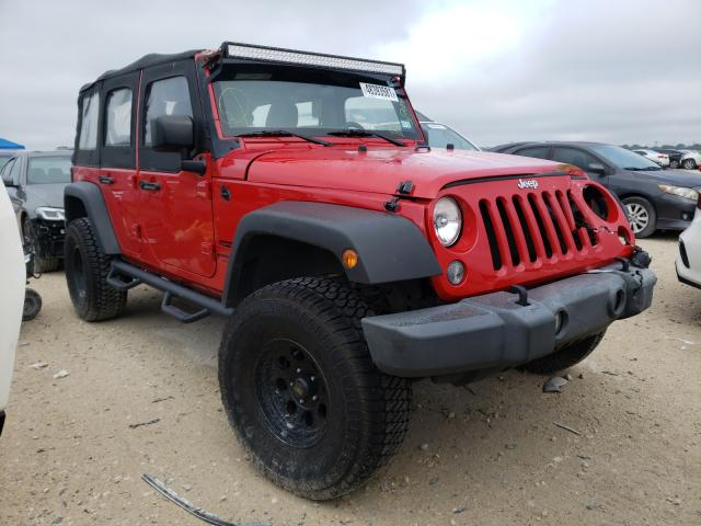Salvage cars for sale from Copart New Braunfels, TX: 2014 Jeep Wrangler U