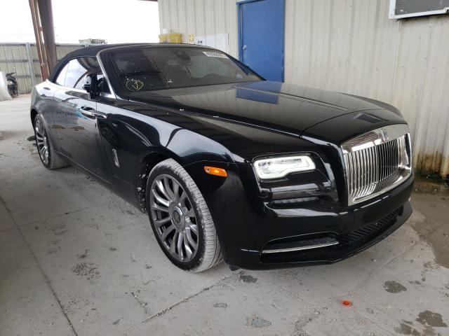 Rolls-Royce salvage cars for sale: 2019 Rolls-Royce Dawn