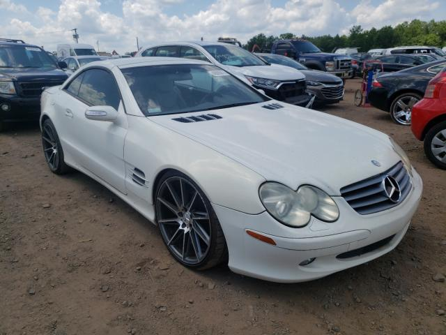 Salvage cars for sale from Copart Hillsborough, NJ: 2004 Mercedes-Benz SL 500