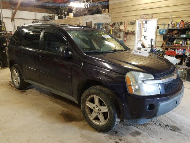 Salvage cars for sale from Copart Billings, MT: 2006 Chevrolet Equinox LT