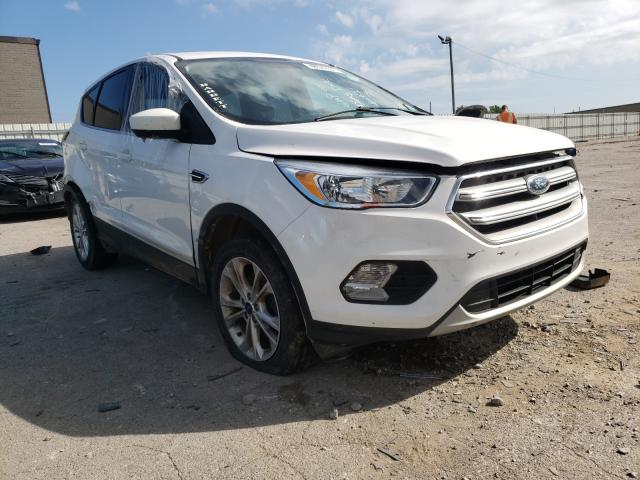 Salvage cars for sale from Copart Lexington, KY: 2017 Ford Escape SE