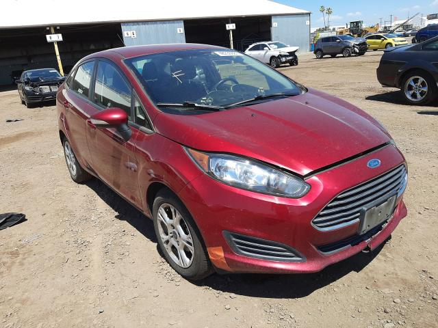 Salvage cars for sale from Copart Phoenix, AZ: 2015 Ford Fiesta SE