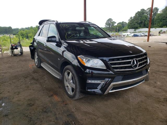 Salvage 2012 MERCEDES-BENZ M-CLASS - Small image. Lot 48304771