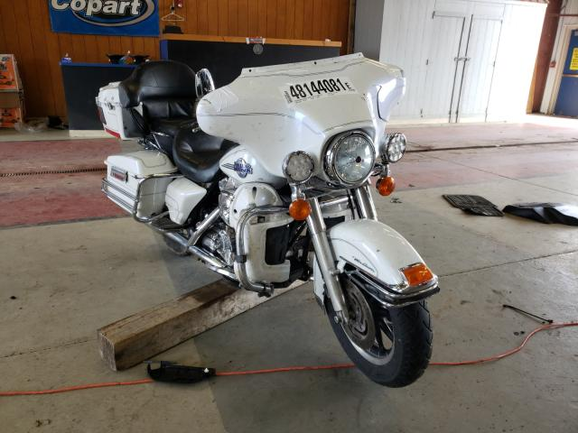 Salvage motorcycles for sale at Angola, NY auction: 2005 Harley-Davidson Flhtcui