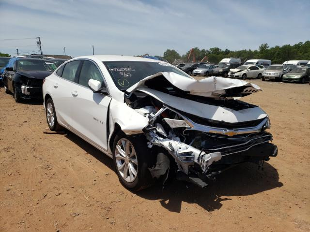 Salvage cars for sale from Copart Hillsborough, NJ: 2021 Chevrolet Malibu LT