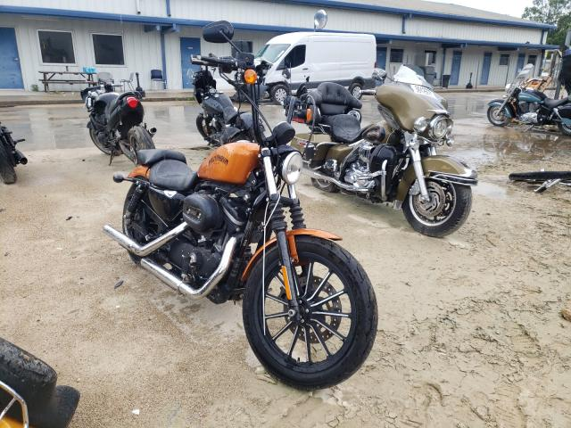 Salvage motorcycles for sale at Greenwell Springs, LA auction: 2014 Harley-Davidson XL883 Iron