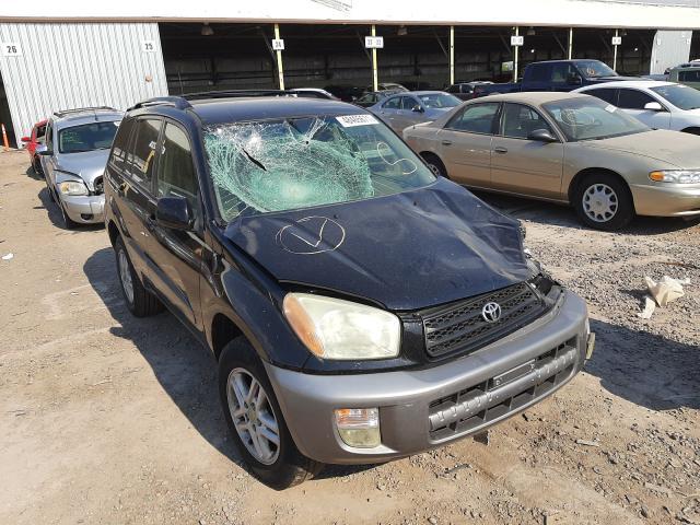 Toyota Rav4 salvage cars for sale: 2001 Toyota Rav4