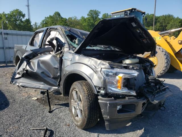 Salvage cars for sale from Copart York Haven, PA: 2019 Ford F150 Super