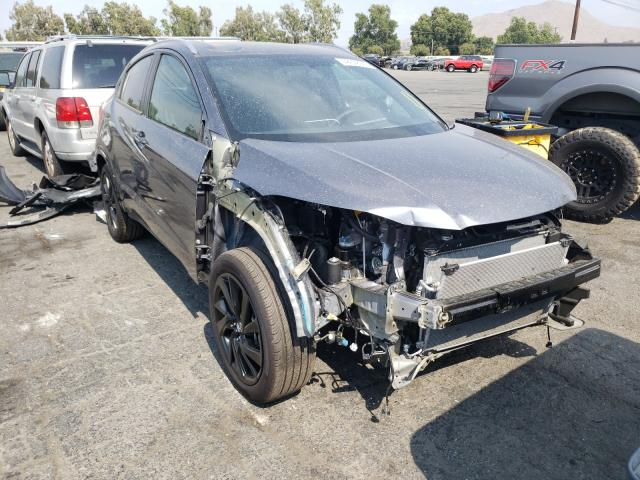 Salvage cars for sale from Copart Colton, CA: 2021 Honda HR-V Sport