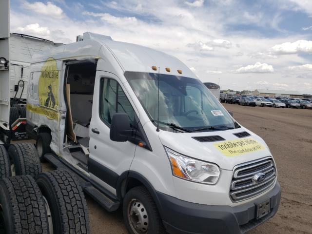 Salvage cars for sale from Copart Brighton, CO: 2018 Ford Transit T