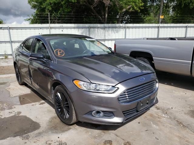 Salvage cars for sale from Copart Corpus Christi, TX: 2014 Ford Fusion SE