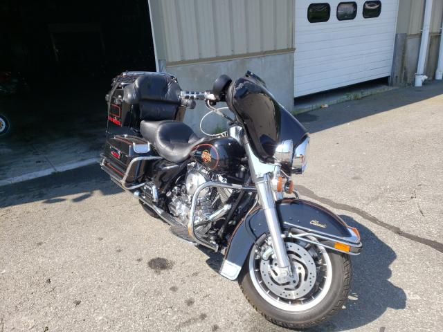 Salvage cars for sale from Copart Exeter, RI: 2001 Harley-Davidson Flht Class