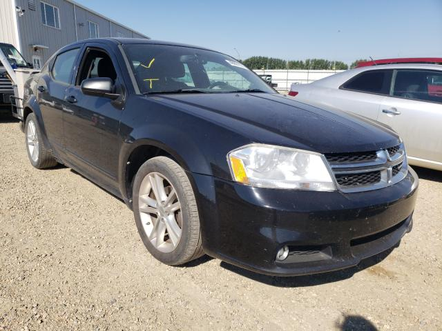 Salvage cars for sale from Copart Nisku, AB: 2013 Dodge Avenger SX